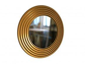 kulate zrcadlo gala 90cm bronzova barva 01