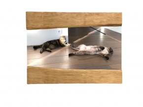 Wood Mirror Julia L 90X70 03