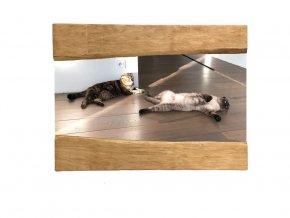 Wood Mirror Julia L 90X70 03