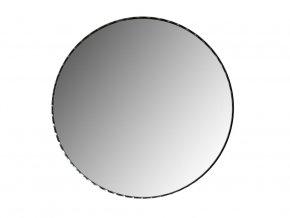 Kulate zrcadlo Paola 55cm cerne 01