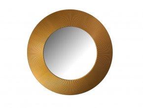 kulate zrcadlo slunce 90cm bronzova barva 02