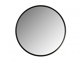 kulate zrcadlo loftika 65cm cerne 01