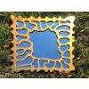 nastenne zrcadlo amadeus bela bronzova barva 02