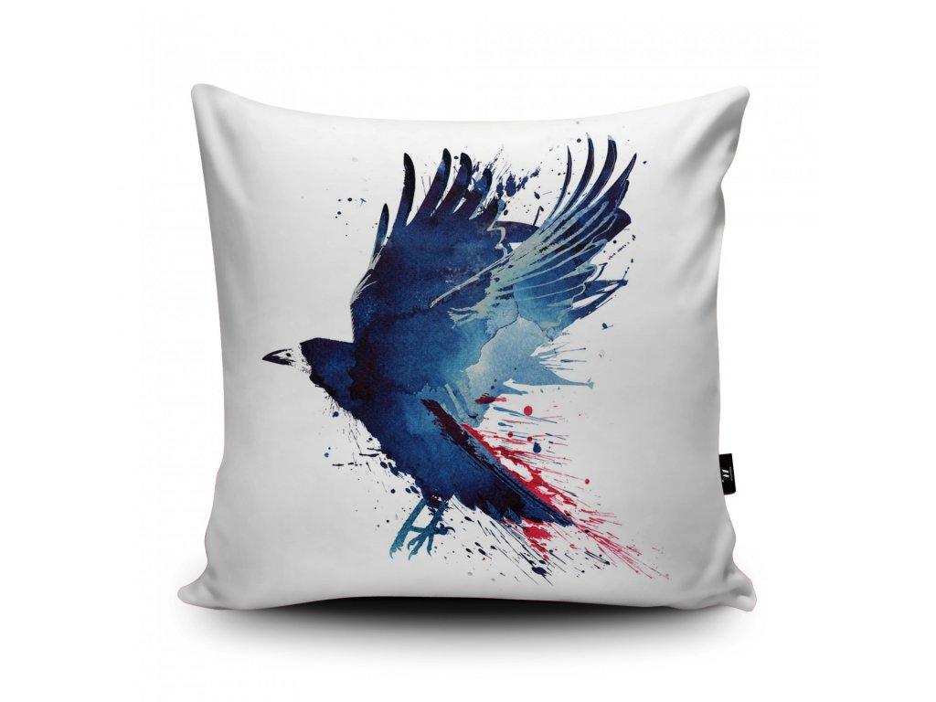 Polštář Bloody Crow