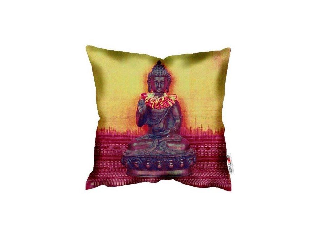 Povlak polštáře Buddah