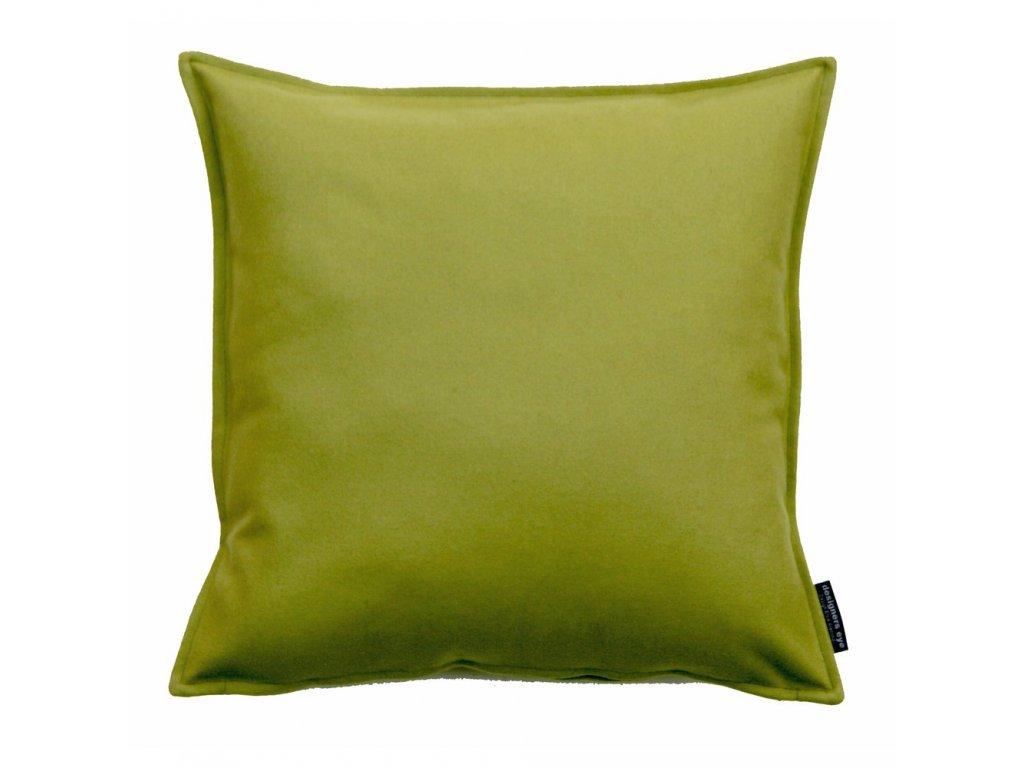 easy kvadratiskt kuddfodral olivgron