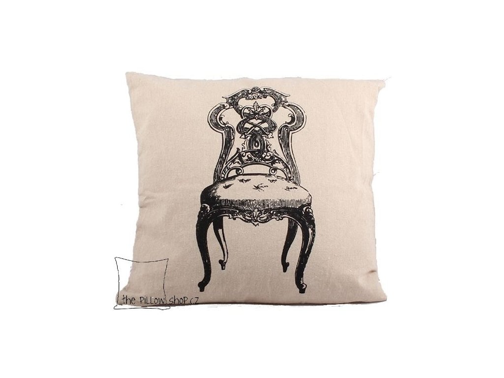 Povlak polštářku Chaise se židlí