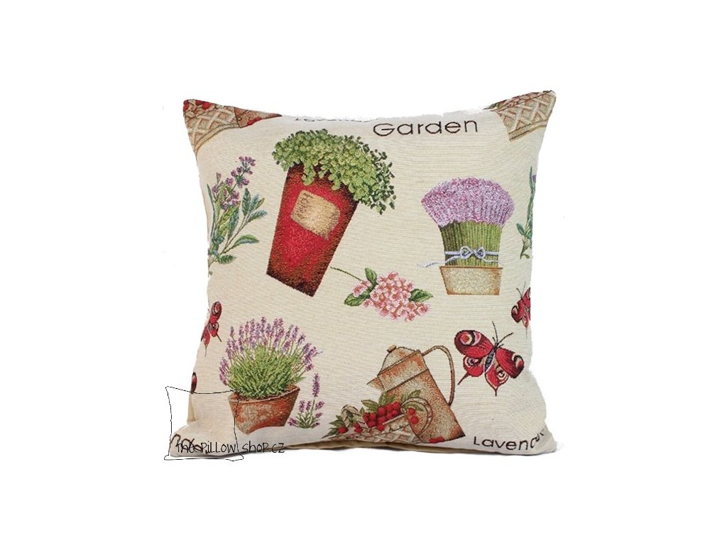 Povlak polštáře Lavender Garden