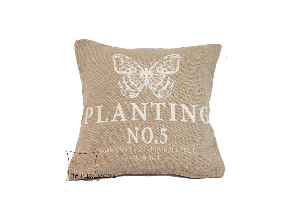 Povlak polštářku Planting