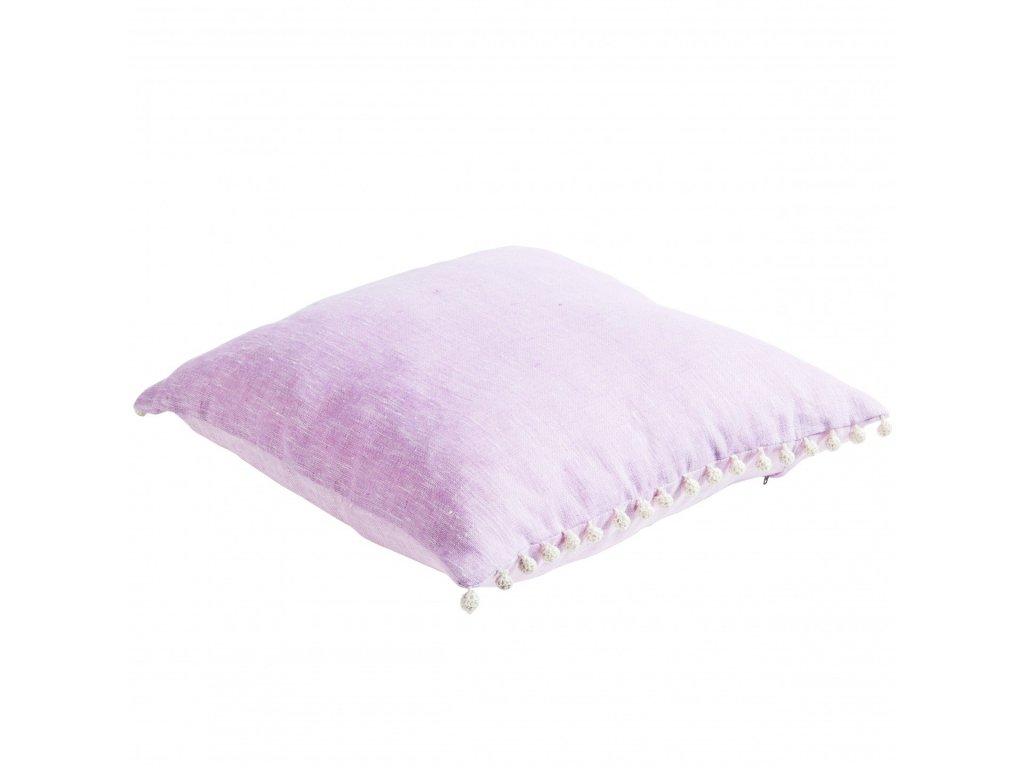 Růžový polštář Liz
