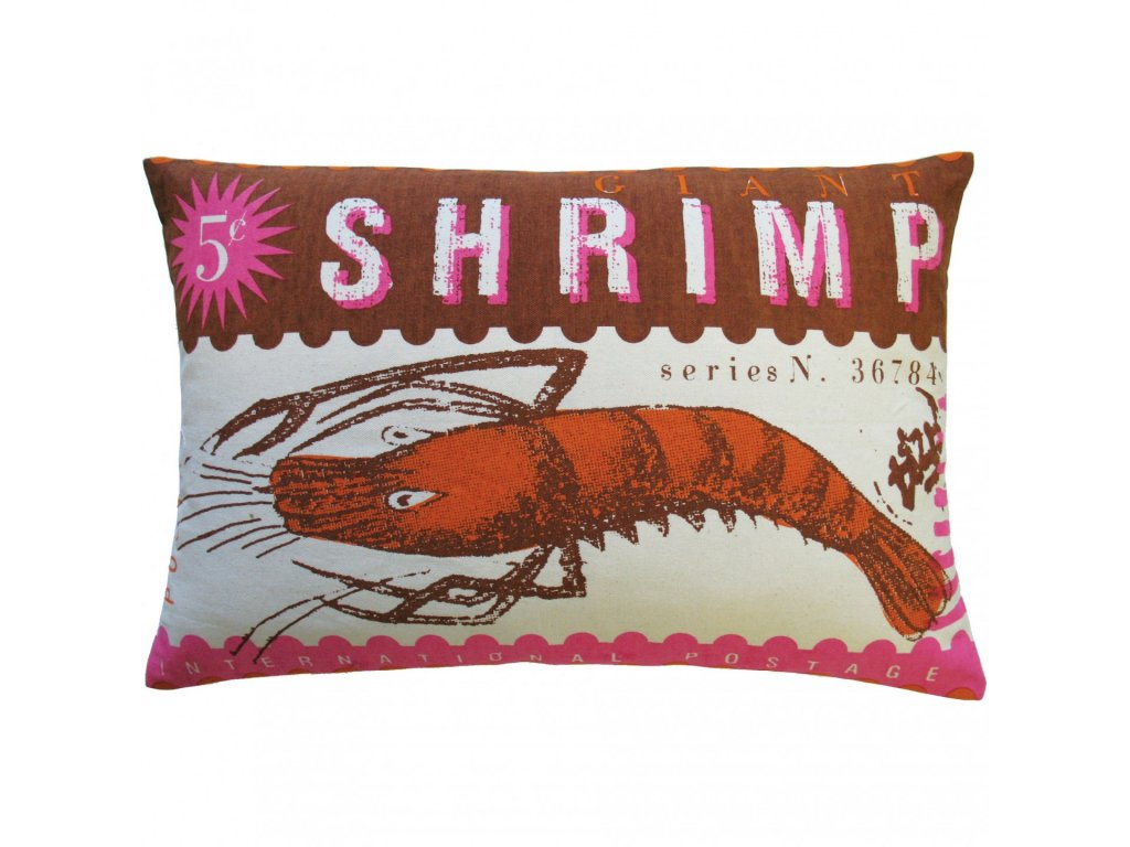 Polštářek Shrimp
