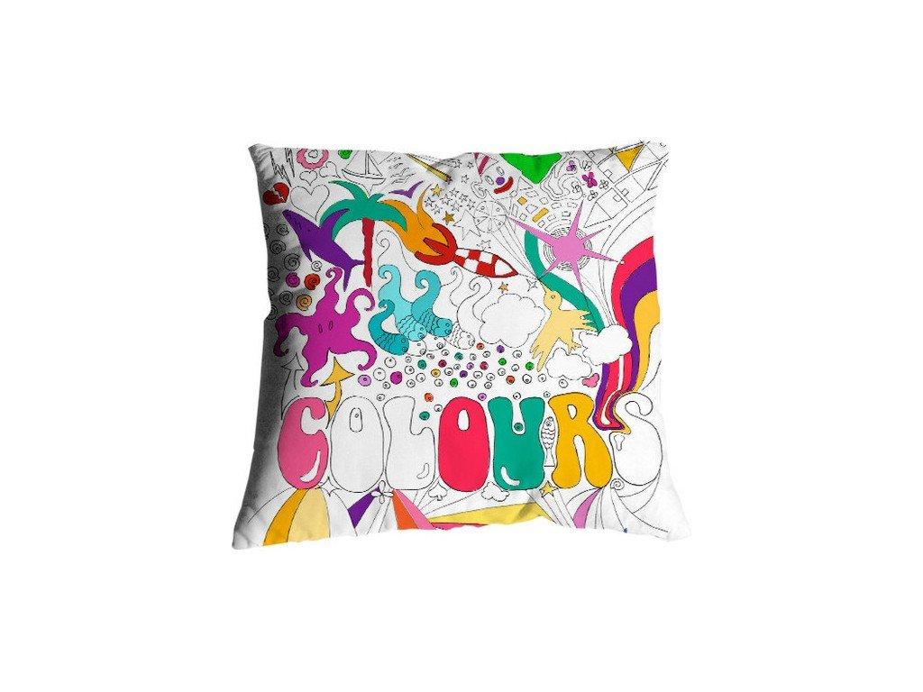 Povlak polštáře Colours