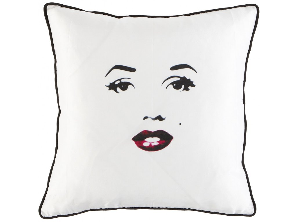 Lesklý polštář Marilyn