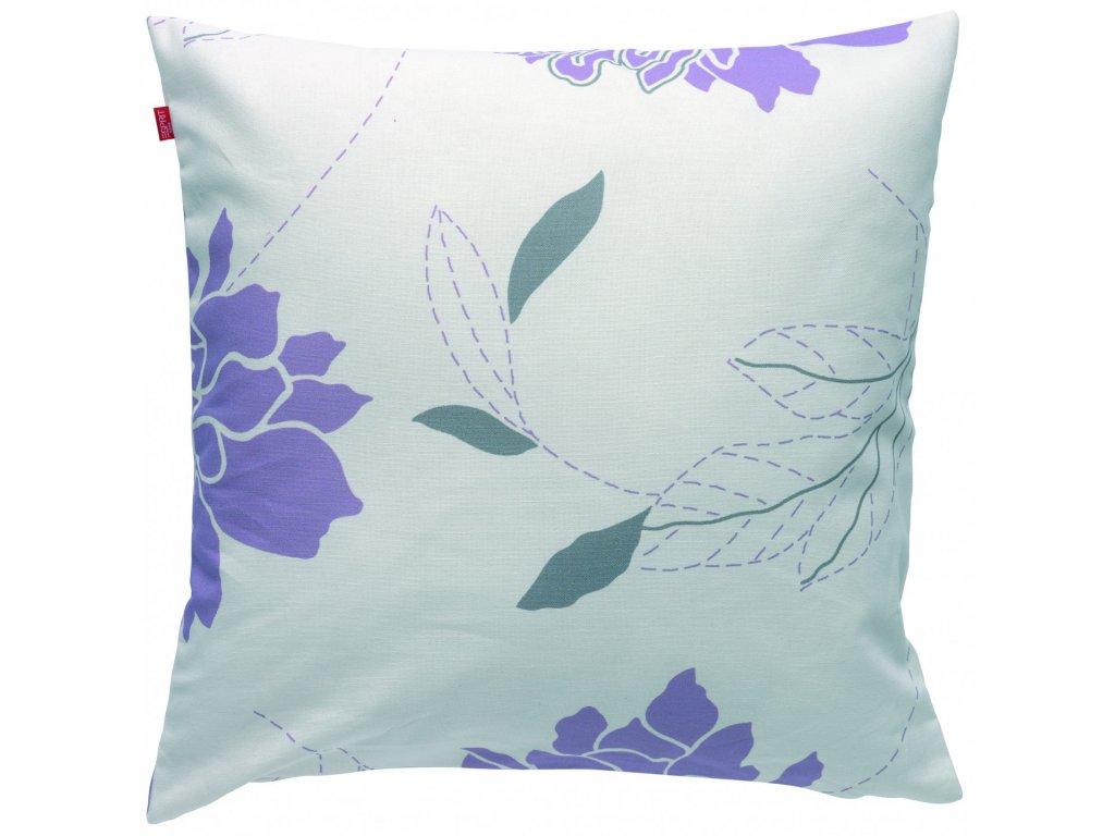 Květovaný povlak polštáře Flora