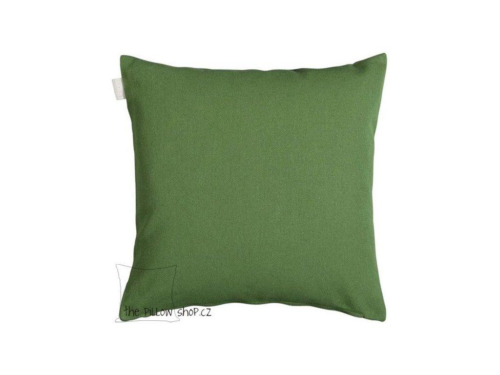 Zelený povlak polštáře Pai