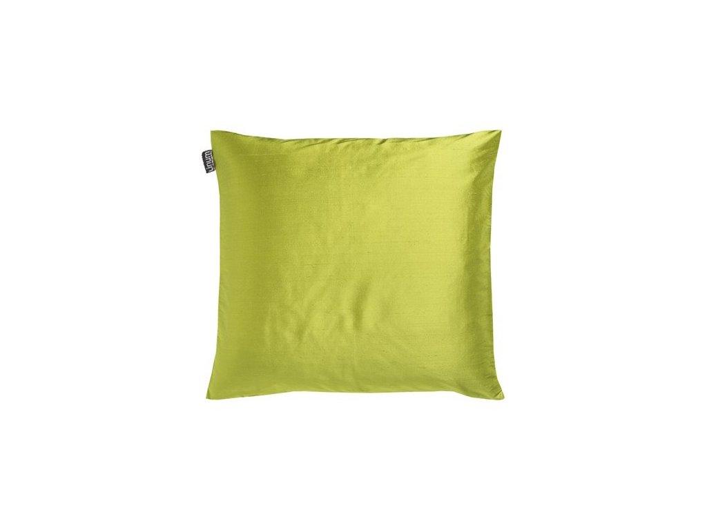 Povlak polštáře Dupion v jarní zelené