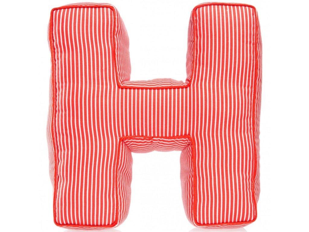 Písmeno H s proužky