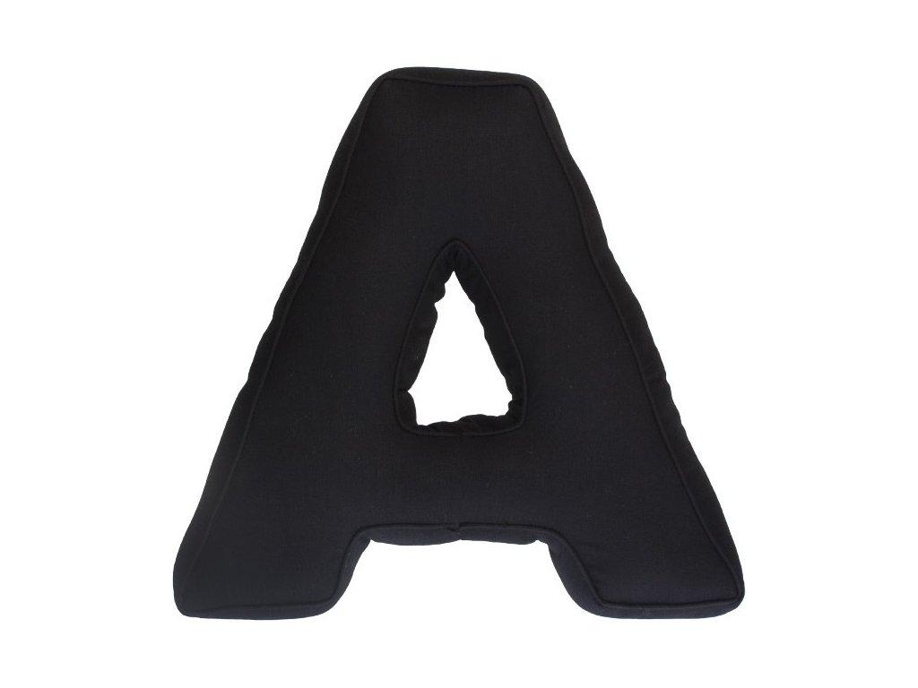 Černé písmeno A