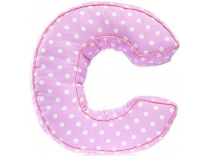 Písmeno C s puntíky