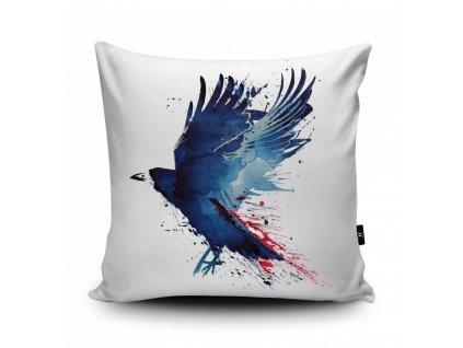 Povlak polštáře Bloody Crow