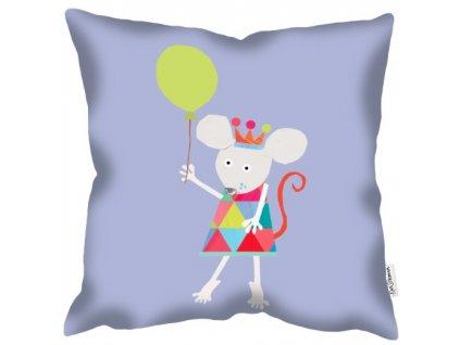 Dětský povlak polštáře Mouse Balloon