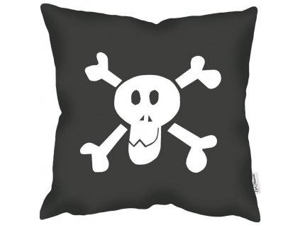 Dětský povlak polštáře Skull
