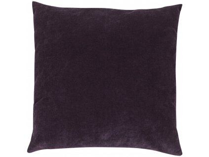 Tmavě fialový polštář Luciano