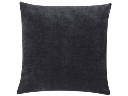Tmavě šedý polštář Luciano