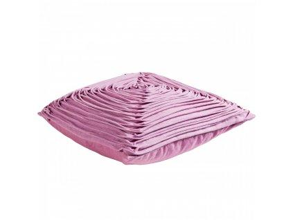 Růžový polštář Nora