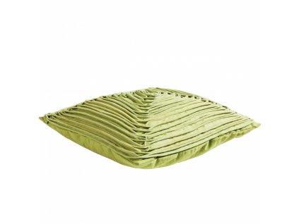 Zelený polštář Nora