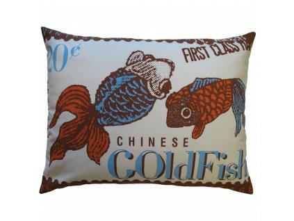 Povlak polštáře Goldfish