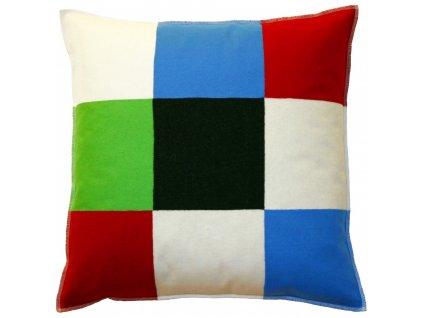 Pestrobarevný polštář Multischack