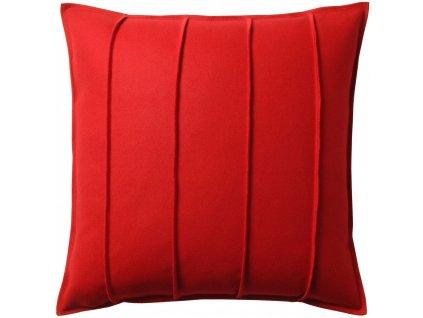 Červený vlněný povlak polštáře Ono
