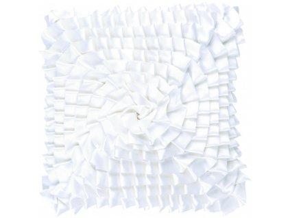 Bílý polštář Nathalie