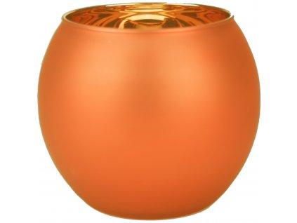 Svícen Ball oranžový