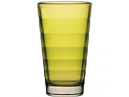 Žluté větší sklenice Wave