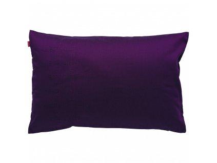 Povlak polštáře Carré fialový