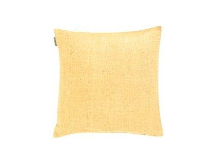Světle žlutý polštářek Seta