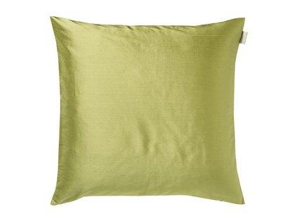 Svěže zelený polštář Dupion