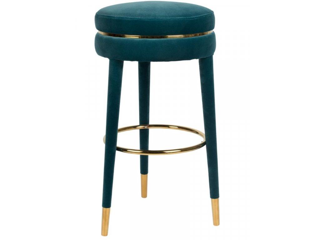 Modrá barová židle 78 cm Bold Monkey I Am Not A Macaron