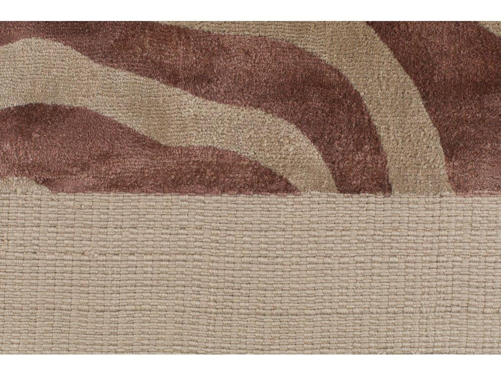 Tkaný koberec se vzorem zebry Bold Monkey Zebra Friendly 200x300 cm, růžová hnědá béžová barva