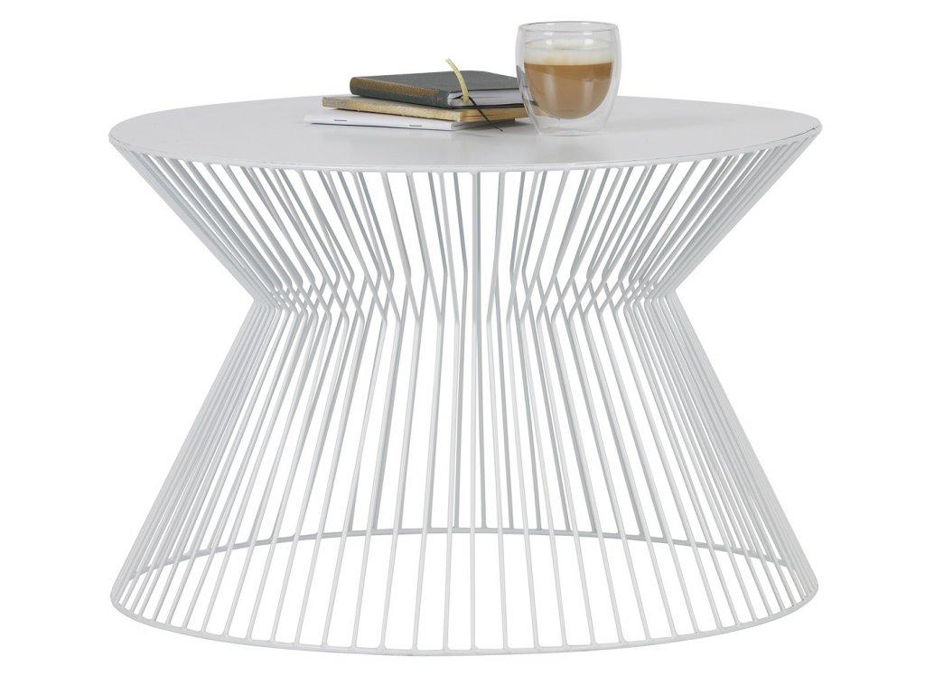 Bílý konferenční stolek Timon
