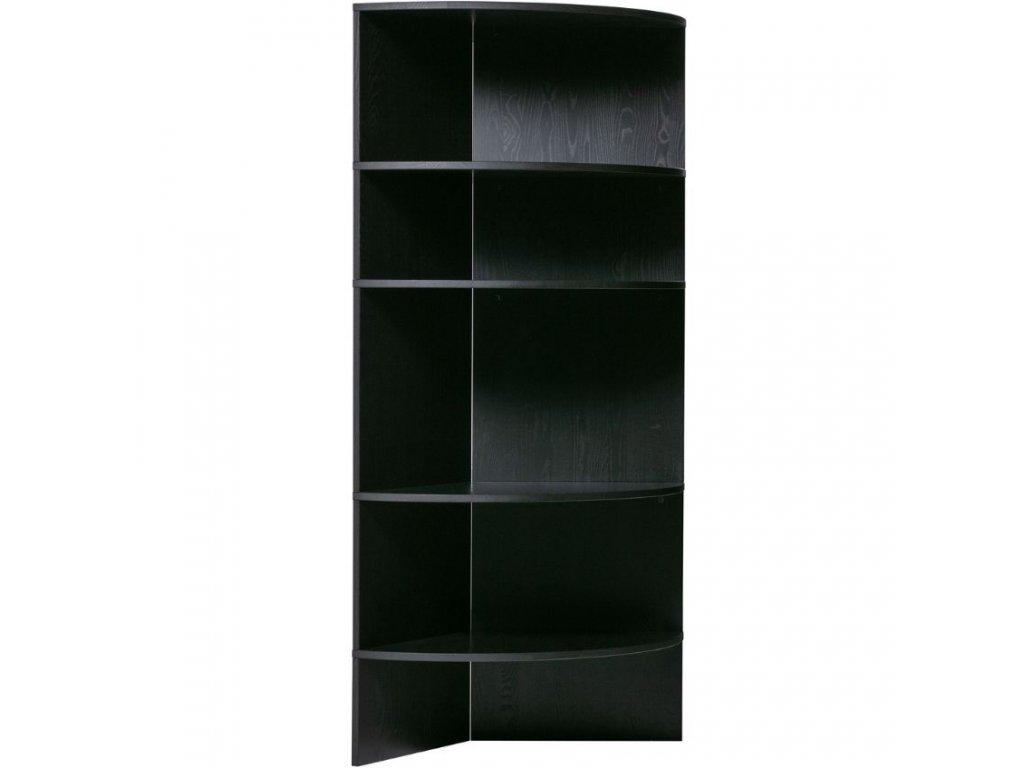 Černá dřevěná knihovna Richard 100 cm848x848
