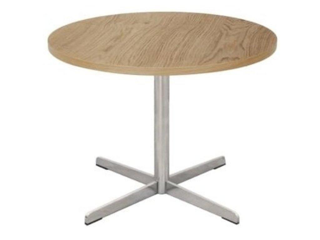 Přírodní dřevěný konferenční stolek FormWood White Prime 43 cm