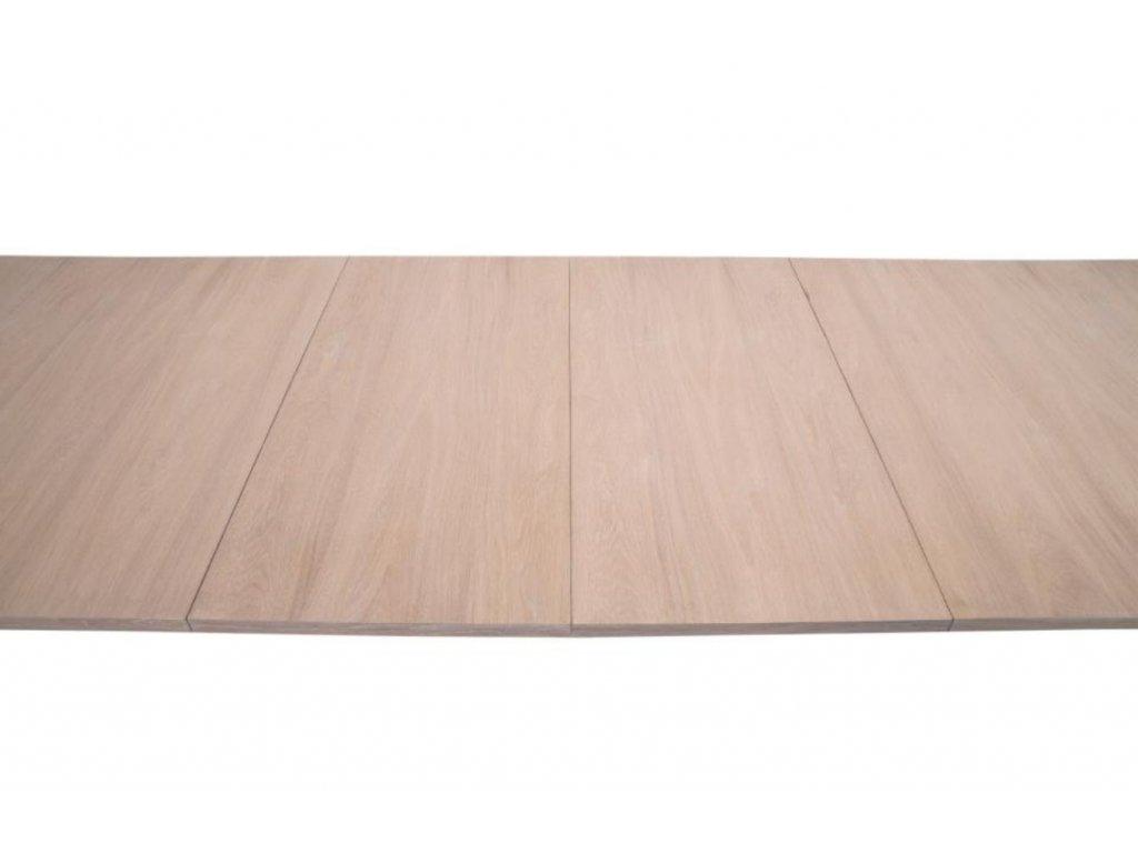 Dřevěný jídelní stůl Hoover 310 cm s dubovou podnoží