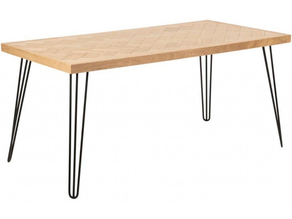 Dřevěný jídelní stůl Nomia 160 x 80 cm