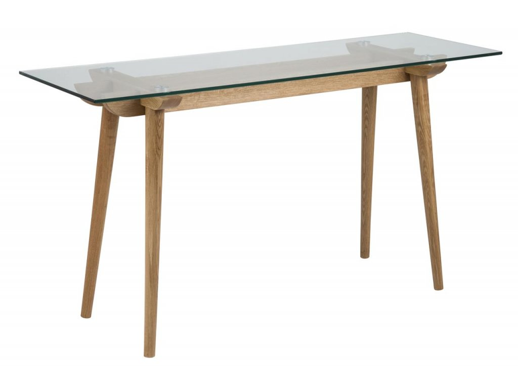 Skleněný odkládací stolek Costa