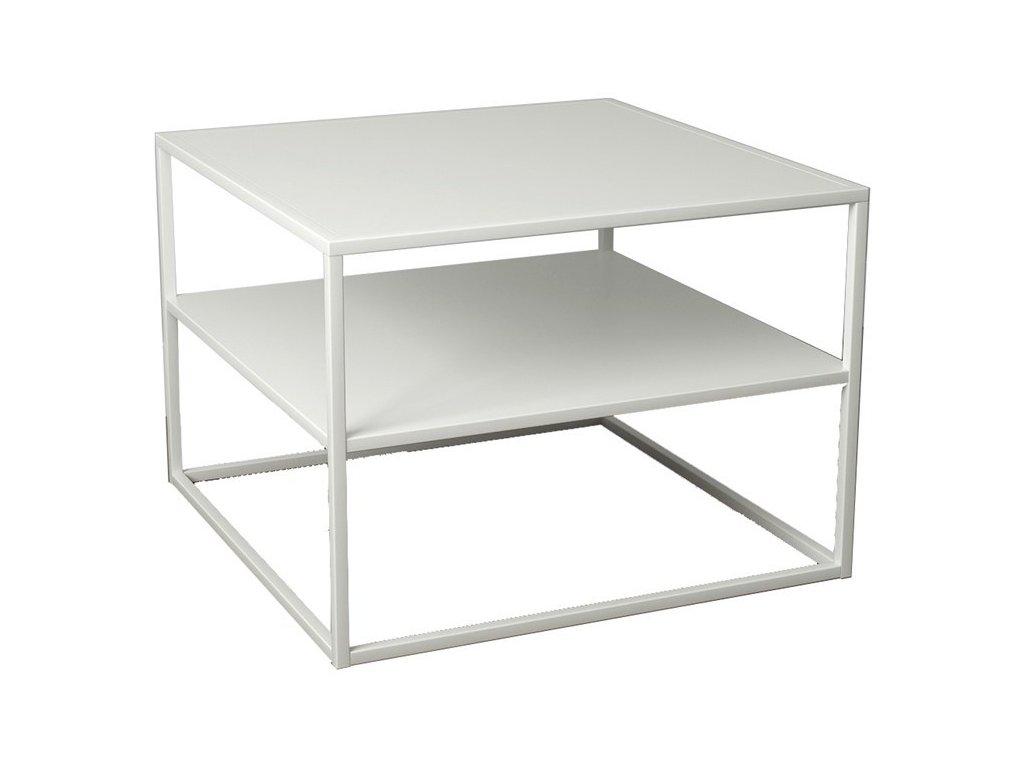 Bílý konferenční stolek Renna II. 60 cm