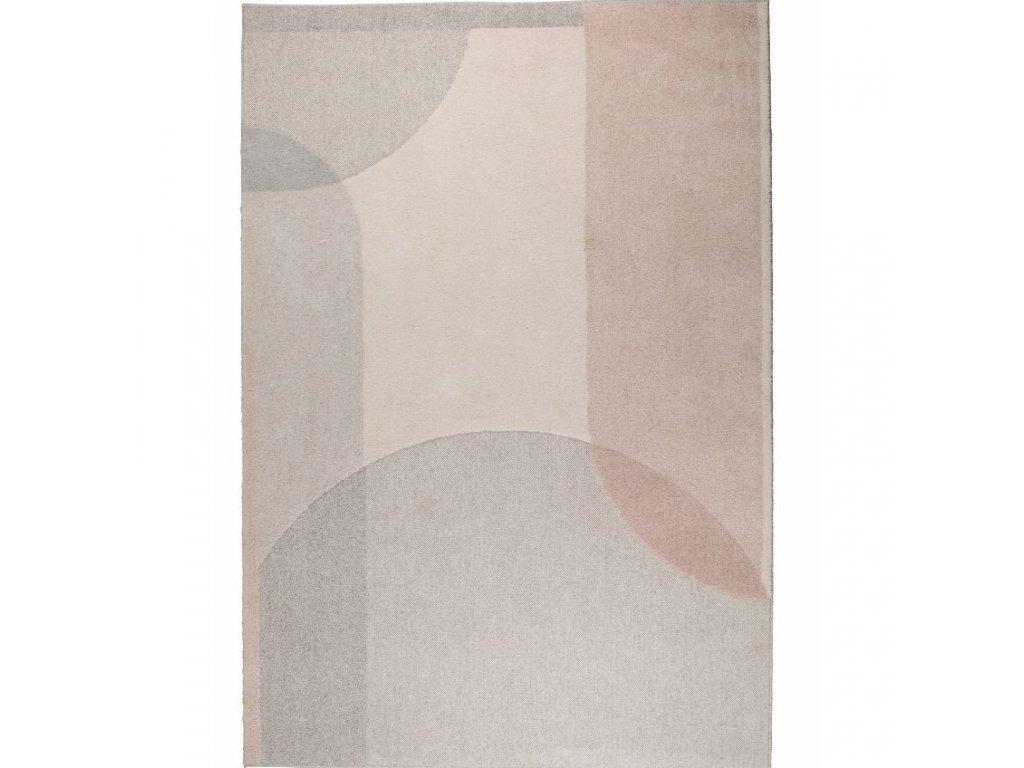 Světle růžový koberec ZUIVER DREAM 200x300 cm