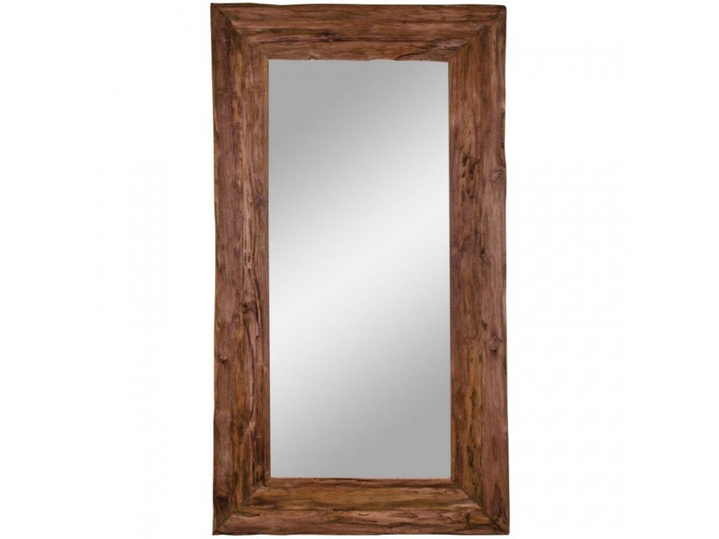 Masivní dřevěné zrcadlo Grane